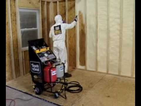 Spray Foam Insulation Equipment Cpds 1000 Youtube