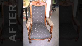 Furniture Restoration Before/after Photos - Lim's Upholstery In Beaverton