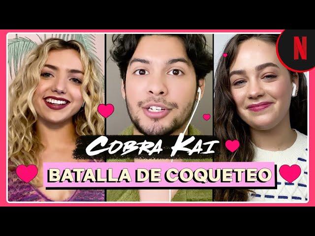 Cobra Kai | Batalla de coqueteo entre Mary Mouser y Peyton List | Netflix