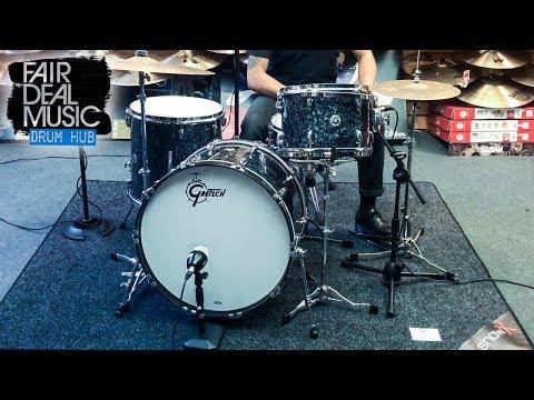 "Gretsch Brooklyn 22"" in Deep Marine Black Pearl @ Fairdeal Music"