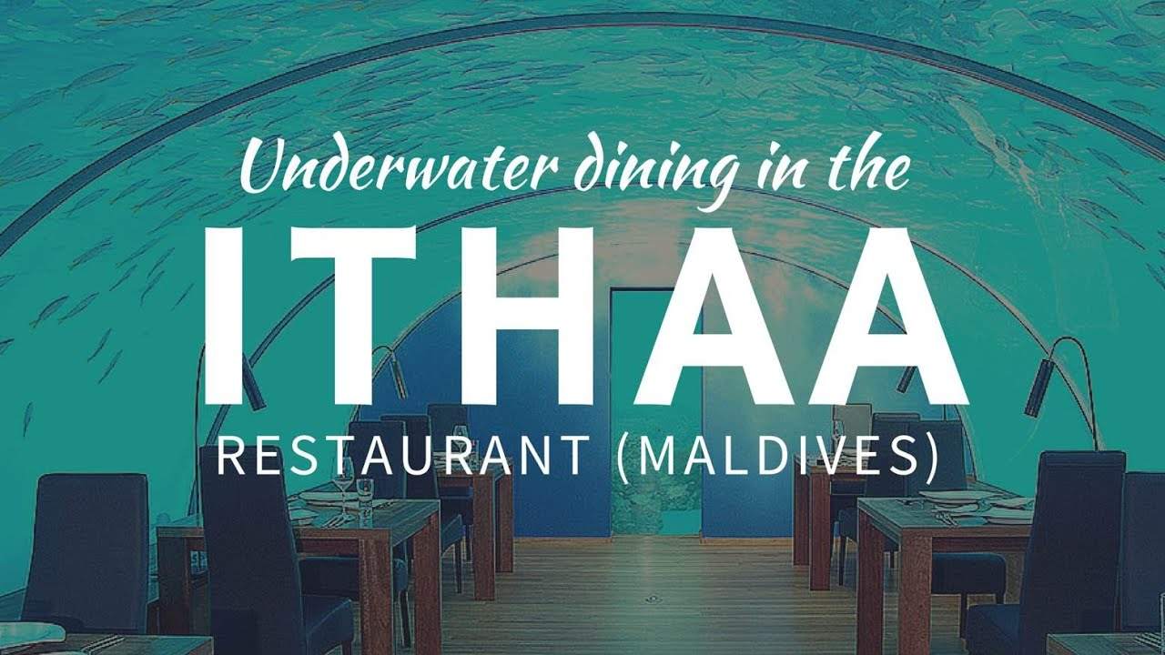 Best UNDERWATER Restaurant Ithaa Mother Of Pearl In The