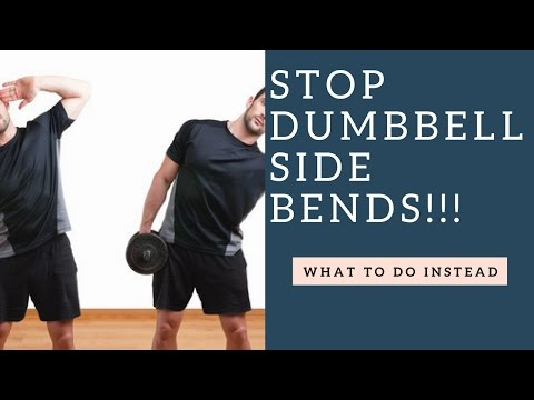 STOP Doing Dumbbell Side Bends & Do This Oblique Exercise Instead!