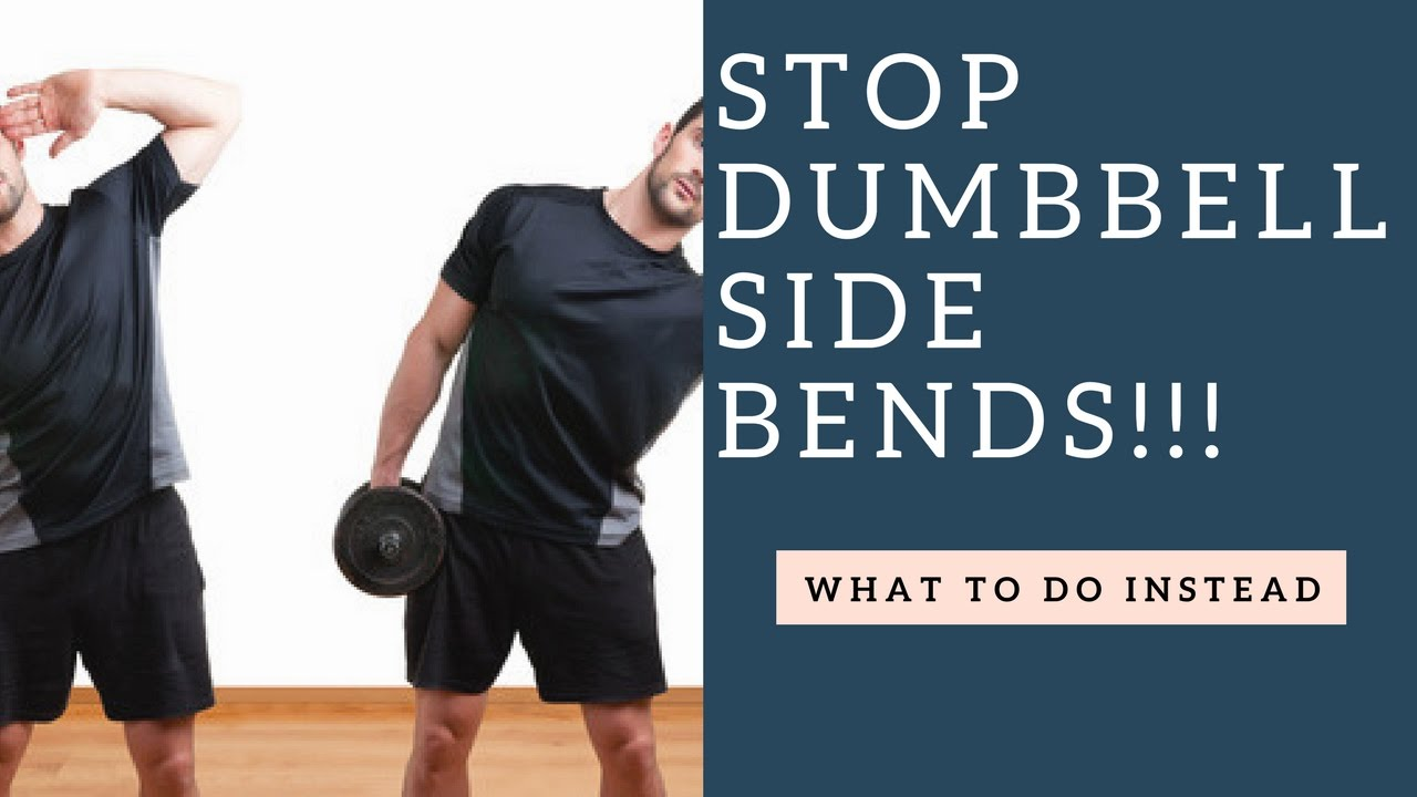 STOP Doing Dumbbell Side Bends Do This Oblique ExerciseOblique Exercises With Weights