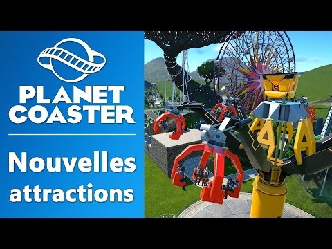 PLANET COASTER : Nouvelles attractions | GAMEPLAY FR #4