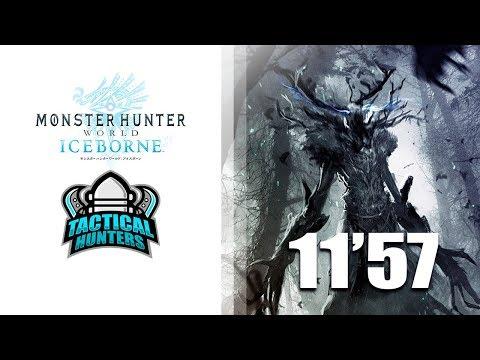 #MHW - Tactical Hunters - Viejo Leshen (Ancient Leshen) 11'57 Speedrun - Monster Hunter World thumbnail