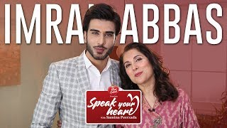 Imran Abbas Opens Up In His Most Candid Interview | Speak Your Heart With Samina Peerzada