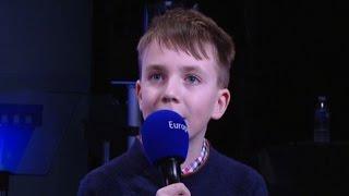 Maximilian, 11 ans, à l'Université