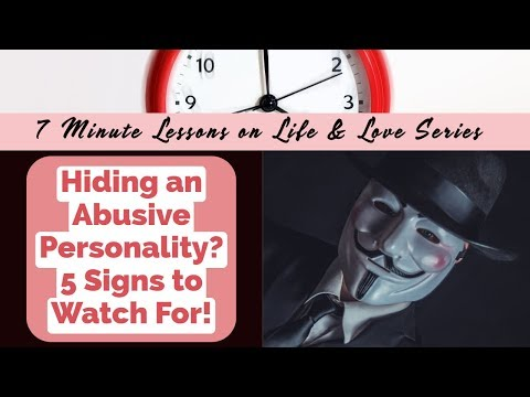 10 Signs of an Obsessive-Compulsive Narcissist from YouTube · Duration:  12 minutes 29 seconds