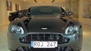 Aston Martin V8 Vantage S test English/Svenska