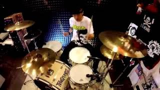BLINK 182 NOT NOW DRUM COVER