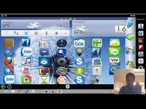 Giả lập androi trên PC  bằng Bluestack