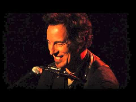 I wish I were blind   Bruce Springsteen piano solo