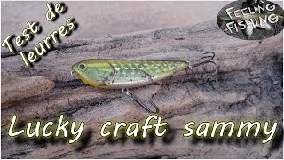 Test de leurres ( brochet, bar, perche) : Stickbait Lucky craft sammy