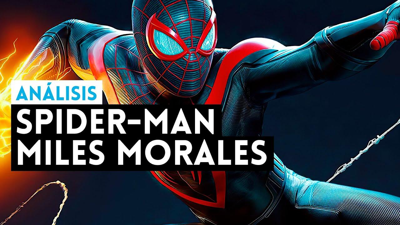 Análisis SPIDER-MAN MILES MORALES (PS5) MÁS de lo MISMO, para bien y para mal (4K 60fps)