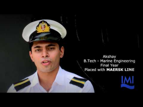 International Maritime Institute - Maersk Placement Drive at IMI 2016