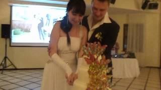 Торт на свадьбе