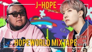 "Download Producer Reacts to J-Hope ""Hopeworld"" Mixtape"