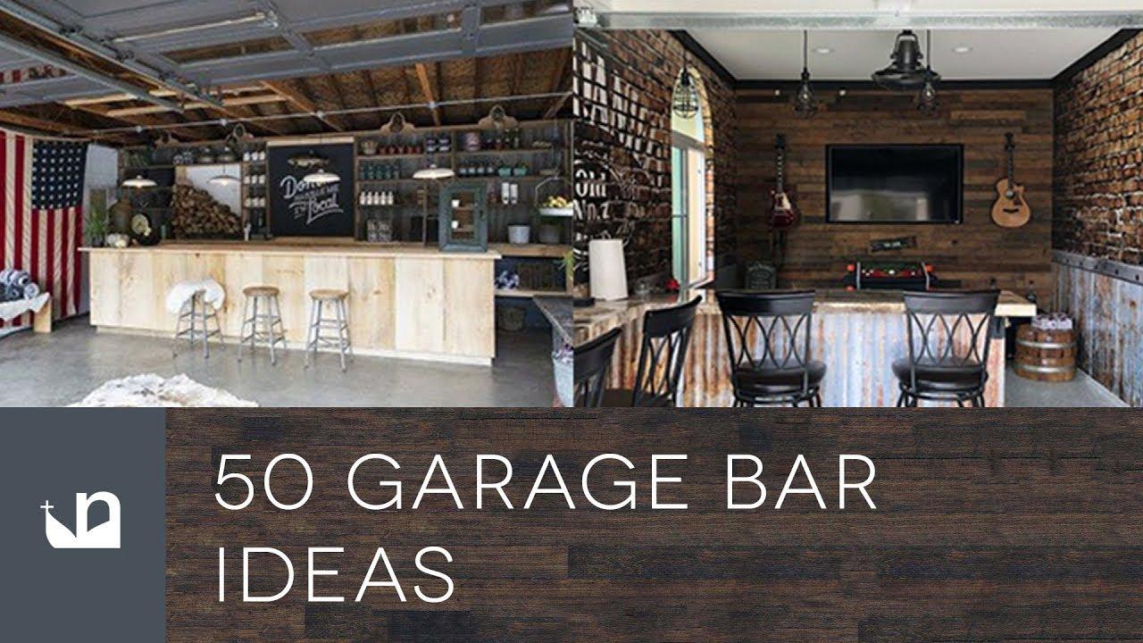 50 Garage Bar Ideas  YouTube