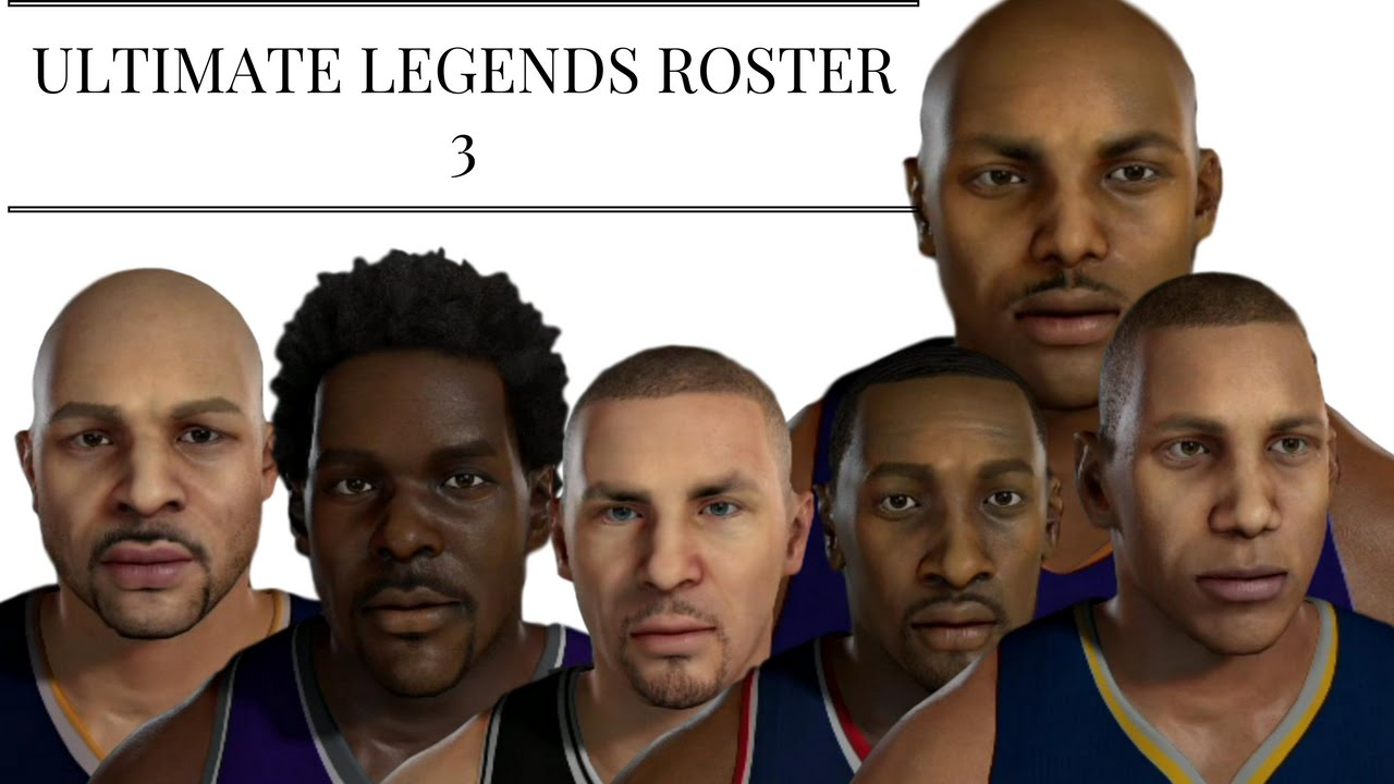 Welcome to '2K Rosters'