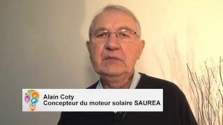 SAUREA - moteur solaire inusable. (vidéo en français sous-titrée en français)