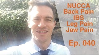 NUCCA - IBS, Back Pain, Leg Pain, Jaw Pain | Dr. Kevin Leach | Ep. 040 | Progressive Chiropractic
