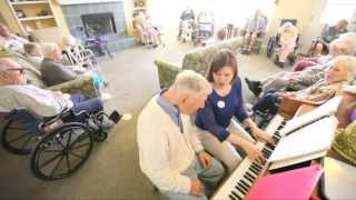 Music therapy comforts, soothes those with varying degrees of dementia