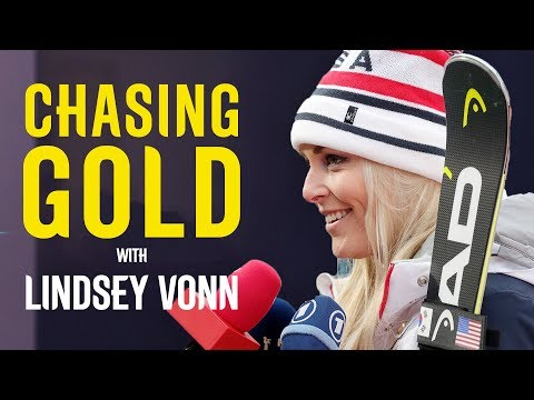 Lindsey Vonn Reacts to Olympic Bronze | Chasing Gold | Pyeongchang 2018 | Eurosport