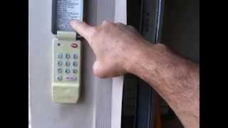 how to change the code on the keypad of genie garage door opener