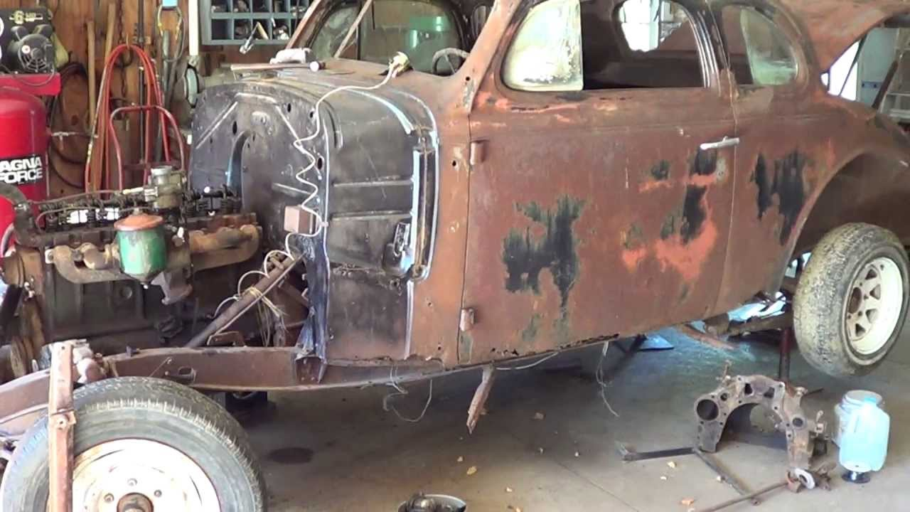 1939 Chevy Master Deluxe Start Of Restoration - YouTube