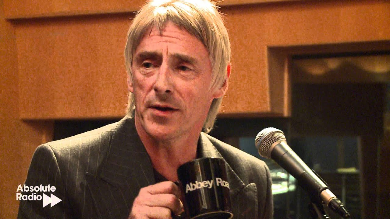 Paul Weller Interview At Abbey Road Studios On Absolute Radio Youtube