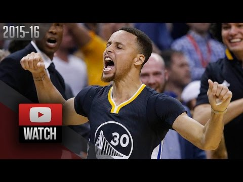 Stephen Curry Full Highlights at Thunder (2016.02.27) - AMAZING 46 Pts, Clutch, HISTORIC!