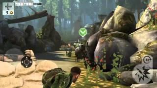 """Игра про Вторую мировую  """"Brothers in Arms 3"""" для ANDROID"""