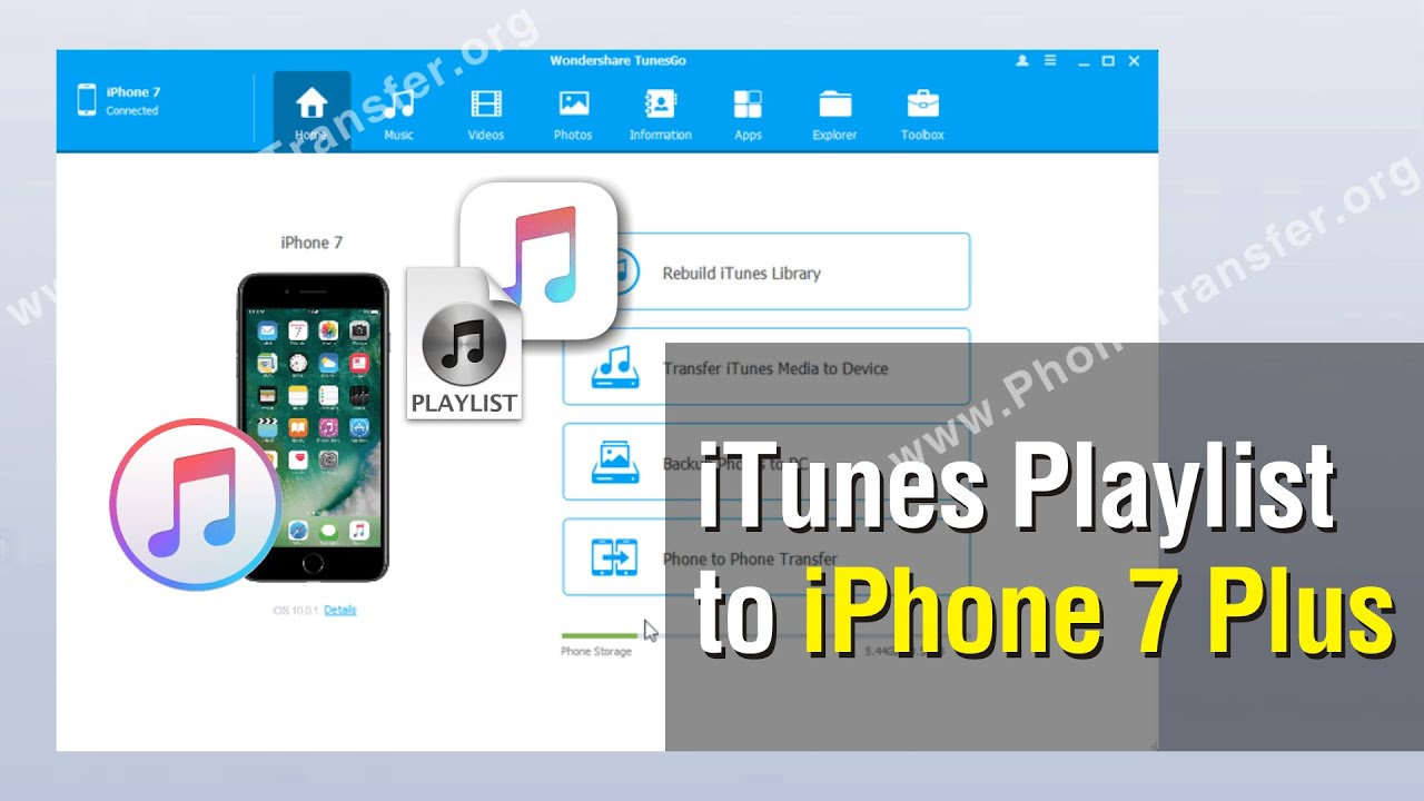 How To Put Iphone Playlist On Itunes