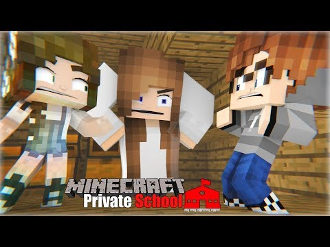 Getting Caught | Minecraft Private School [S1: Ep.23 Minecraft Roleplay Adventure]