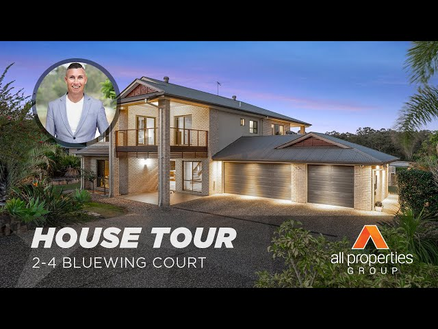 HOUSE TOUR | 2-4 Bluewing Court, Greenbank | Chris Gilmour