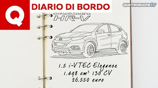 Diario di Bordo: una settimana con la Honda HR-V 1.5 aspirata in 6 minuti