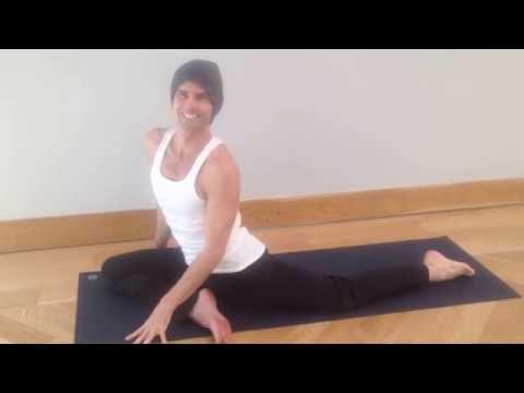 Yoga Tutorial:  Single Pigeon with Mama Kuka Straps