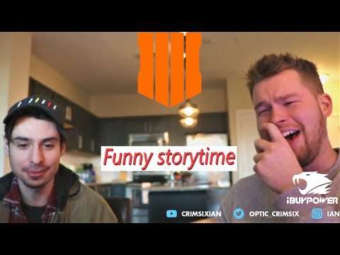 Crimsix and Zooma's Storytime (Top Competitive Black Ops 4 Moments)