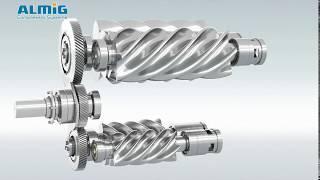 Der enAIRgieeffizienteste Schraubenkompressor der Welt - Die G-Drive T von ALMiG