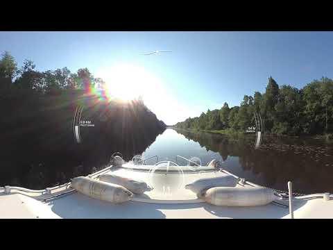 Белозерский канал от Белозерска до выхода в Шексну.