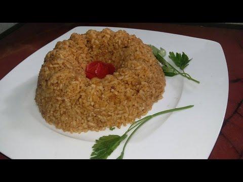 طريقة عمل أرز الصيادية أرز السمك  مضمونة 100%