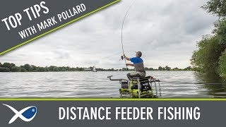 *** Coarse & Match Fishing TV ***Mark Pollard Distance Feeder Tips