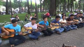 Để Em Rời Xa mashup Ngôi Nhà Hạnh Phúc - Du ca Sài Gòn 24/05/2015