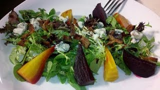Making Roasted Baby Heirloom Beet Salad On Studio10