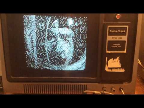 TRS-80 Model I Playing The Six Million Dollar Man Intro