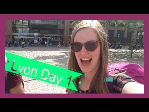LYON Day 1: Vieux Lyon - Fourvière - Place Bellecour - Centre ville    Travel vlog