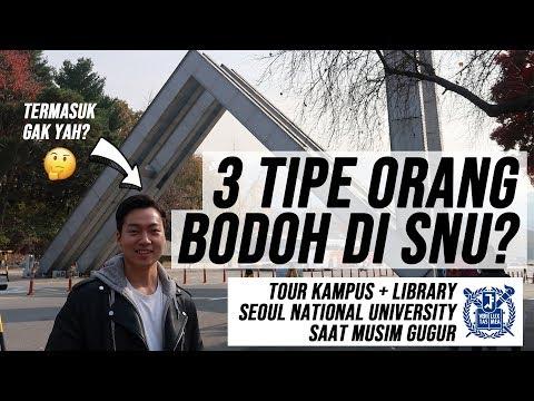 [VLOG 06] 3 TIPE ORANG BODOH DI SNU? (TOUR KAMPUS + LIBRARY SEOUL NATIONAL UNIVERSITY)