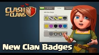 Clash of Clans: New Clan Badges Update Sneak Peek! + Other Awesome Ideas