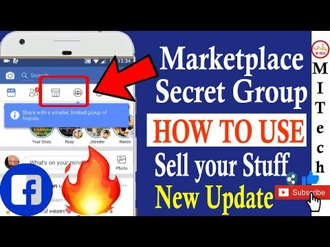 Facebook Marketplace : Sell and Buy on Fb🤓📱| 💡Secret group Option| New Upate 2018