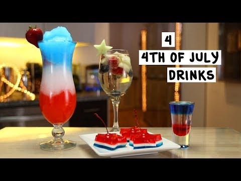 Four 4th of July Drinks